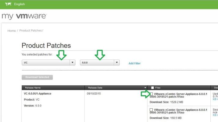 vmware vCenter Appliance (port 5480 & Patch/Update) | KISSTIBOR info