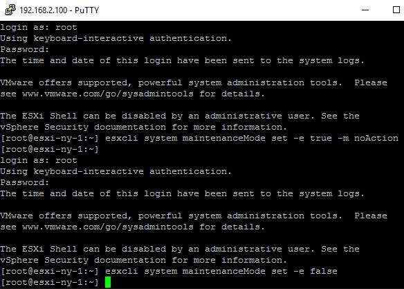 008_Exit_MaintenanceMode_via_ssh