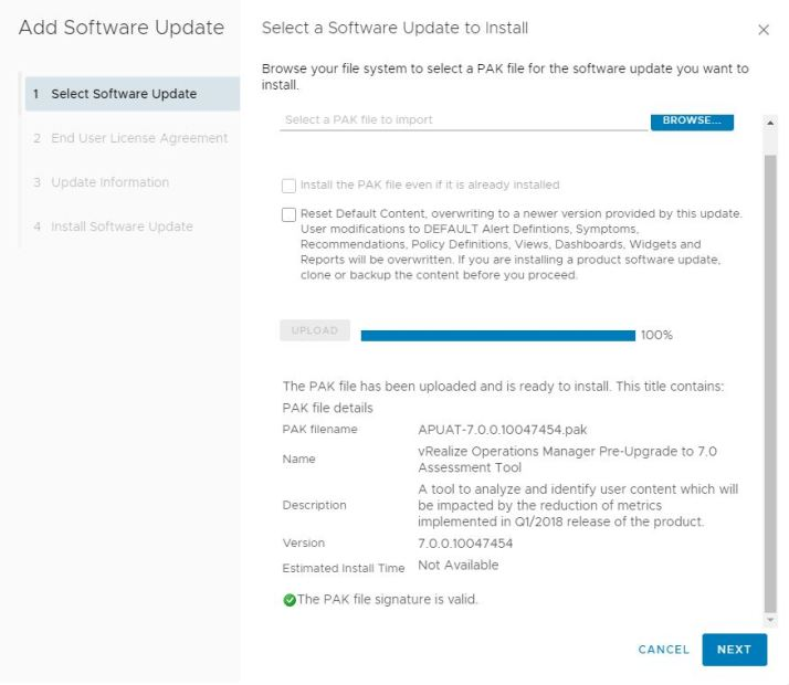 VMware vRealize Operation 7 0 Upgrade experience | KISSTIBOR