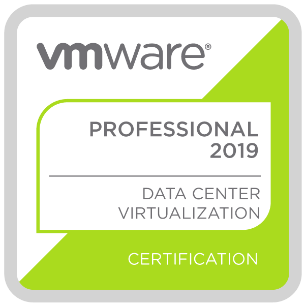 VMware Certified Professional 2019
